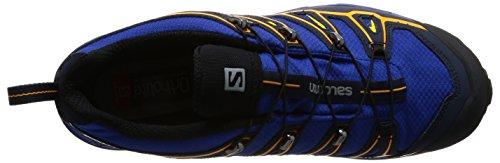 Salomon Mannen X Ultra 2 Gtx Hal Schoenen, Groen, Blauw (surfen Op Het Web / Navy Blazer / Heldere Goudsbloem)