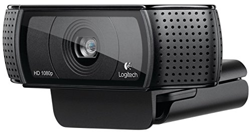 Logitech HD Pro Webcam C920, Widescreen Video Calling and Recording, 1080p Camera, Desktop or Laptop Webcam