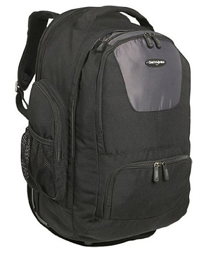(Samsonite Large Wheeled Laptop Backpack in Black)