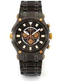 Men's Calibre Robusta Swiss Chronograph Gunmetal Rose Gold Accents