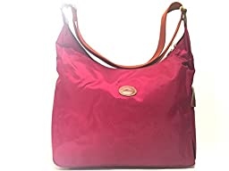 LONGCHAMP HOBO - LE PLIAGE Color: FUCHSIA