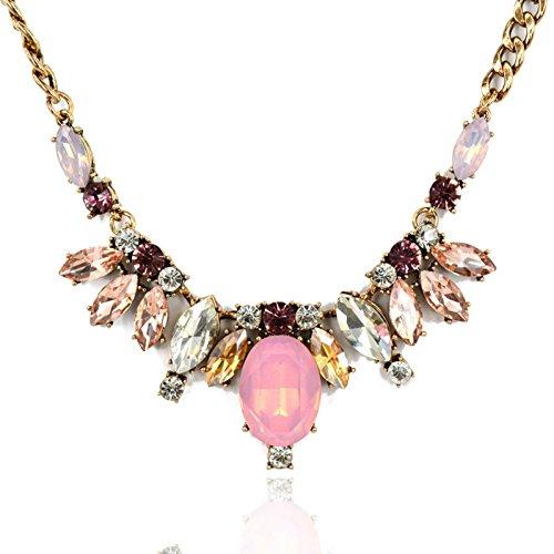Gucci fashion necklace eggerated alloy diamond necklace high-grade luxury trade environmental alloy necklaces