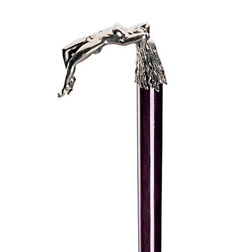 Design Toscano Ecstasy Pewter Walking Stick