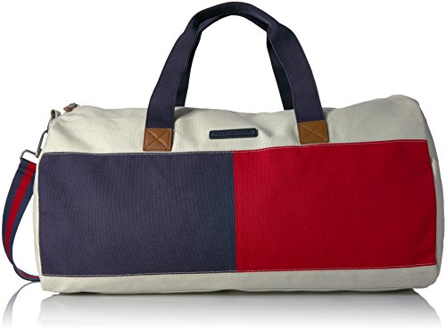 Tommy Hilfiger Women's Duffle Bag Flag Colorblock, Parachute by Tommy Hilfiger