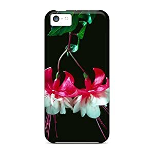 Flowers Case Compatible With Iphone 5c/ Hot Protection Case