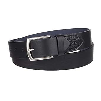 Nautica Men's Casual Belt, Black Vintage, 30