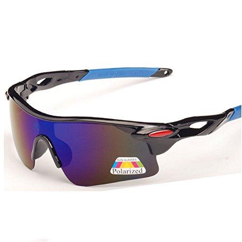 Z-P Fashion Men's Sports Riding Driving Windproof Polarized Ultra Sunglasses - Overglasses Uk