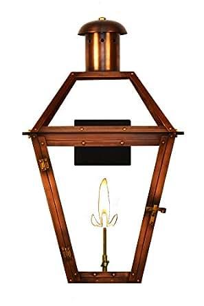 "The CopperSmith Georgetown 20"" Gas Lantern GT20-Elec"