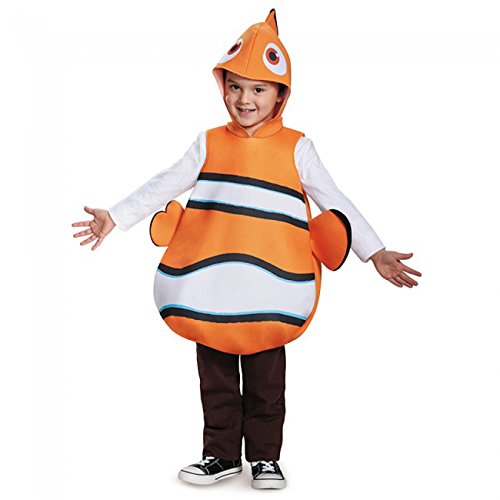 Nemo Classic Finding Dory Disney/Pixar Costume, One Size (Halloween Fish Costume)