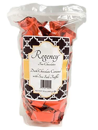 Regency Fine Chocolate Truffles, Dark Chocolate Caramel with Sea Salt, 60 ()