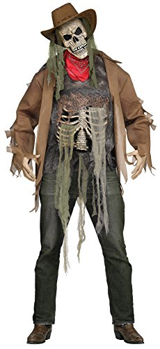 Dead Or Alive 6 Costumes (Wanted: Dead or Alive Cowboy Skeleton Adult Costume)