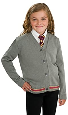 Harry Potter Hermione Granger Hogwarts Cardigan and Tie Costume