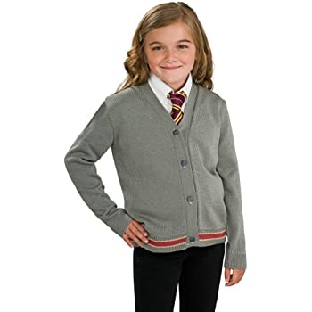 Harry Potter Hermione Granger Hogwarts Cardigan and Tie Costume - Small  sc 1 st  Amazon.com & Amazon.com: Rubies Costume Harry Potter Childu0027s Hermione Granger ...