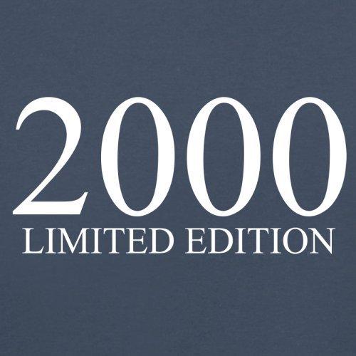 2000 Limierte Auflage / Limited Edition - 17. Geburtstag - Herren T-Shirt - Navy - XS
