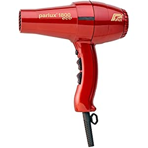 Parlux Hair Dryer 1800 - Secador de pelo, color rojo