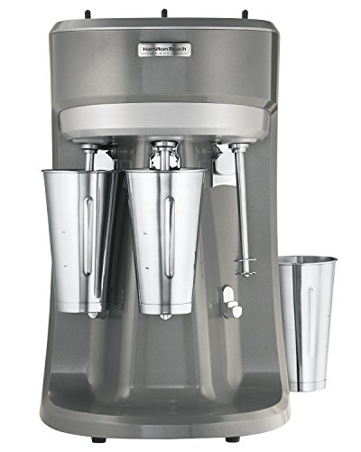 (Hamilton Beach HMD400 120V Triple Spindle Commercial Drink Mixer)