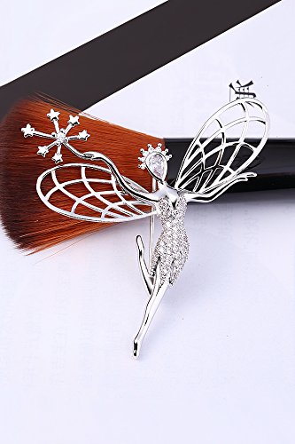 Generic Korean Fashion Angel dance lovely corsage brooch women girls lady accessories retro pin buckle collar pin jewelry Beautiful cardigan by Generic (Image #4)