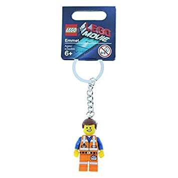 Lego:THE LEGO MOVIE Emmet Keychain by LEGO: Amazon.es ...