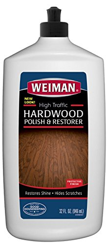 Amazing Weiman High Traffic Hardwood Floor Polish And Restorer Natural Shine Removes Scratches Leaves Protective Layer 27 Fl Oz Home Interior And Landscaping Staixmapetitesourisinfo