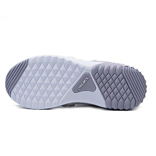 Onemix Nuovo Arrivo Uomini E Donne Foderato In Pelliccia Stivali Da Neve Invernali Ankle-high Sneakers Sportive Beigewhite
