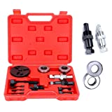 DishyKooker Air Condition Compressor Clutch Installer/Remover Kit A/C Automotive Bearing Removing Tool Auto Parts Motorcycle Fittings Car Accessories
