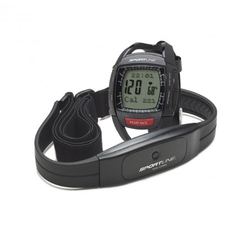 Sportline Cardio 660 Men's Heart Rate Monitor Black SP1446BK