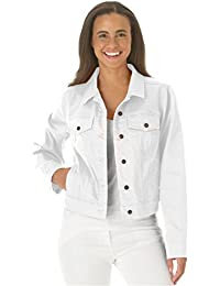Amazon.com: White - Denim Jackets / Coats, Jackets & Vests ...