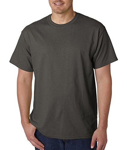 Gildan Men's Heavy Taped Neck Comfort Jersey T-Shirt, XXX-Large, - Shops Tweed