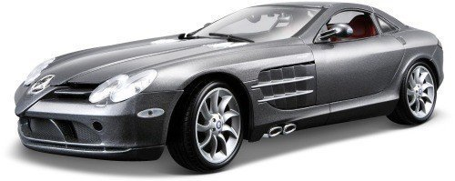 Mercedes Mclaren SLR Blue 1:18 Diecast Model Car
