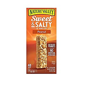 Nature Valley Sweet & Salty Bar, Peanut, 3 pounds and 11.25 ounces