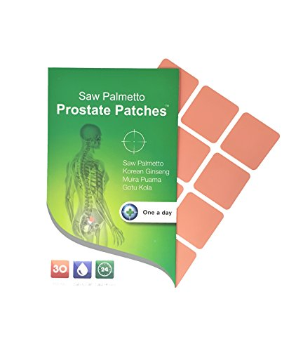 Saw Palmetto Prostate Transdermal Patches (30 Days Supply) - Most Convenient Way of Taking a Supplement for Prostate Health and to Reduce Frequent Urination. Complex Ingredients Infused in a Patch!