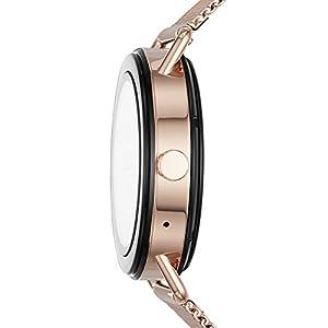 Skagen Falster Stainless Steel Mesh Smartwatch, Color: Rose Gold-Tone SKT5002
