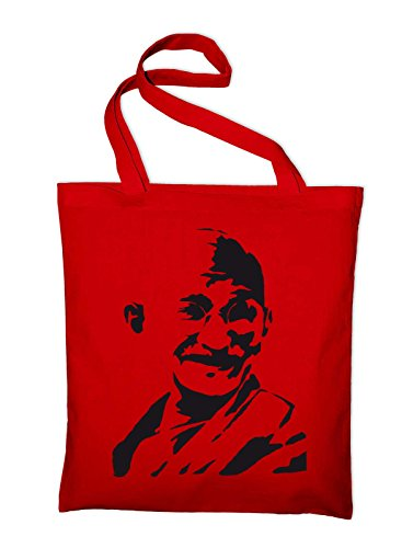 India Bag Mahatma Red Bag yellow Yellow Gandhi Jute Cotton Styletex23bagandhi6 SwqtZT5q