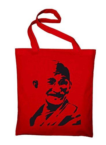 Cotton Mahatma Styletex23bagandhi6 Gandhi Bag Jute Yellow Bag Red yellow India qqA6wOI