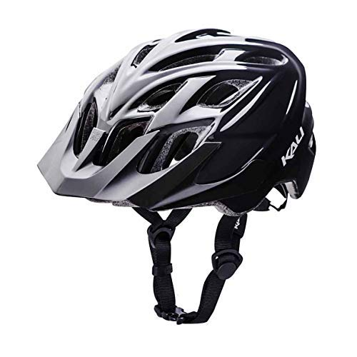 Kali Protectives Chakra Solo Helmet Solid Gls Black, S/M