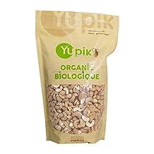 Yupik Organic Dry Roasted Cashews With Sea Salt, 1Kg