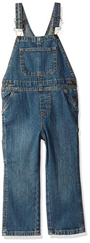 Wrangler Authentics Toddler Boys' Denim Overall, aged indigo, 3T]()