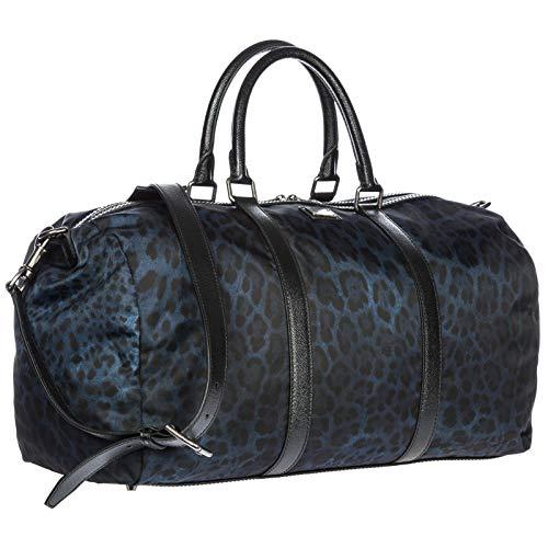 Borsoni Trolley amp;Gabbana cm Nylon Dolce e Nero e Uomo Blu BM1314AL11389853 25x28x50 Blu Valige qTwOERdq
