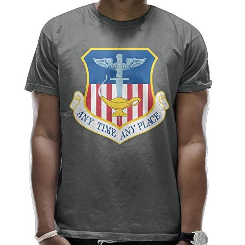 United States Air Force 1st Special Operations Wing Men's Casual Short Sleeve Tee Shirts Deep Heather