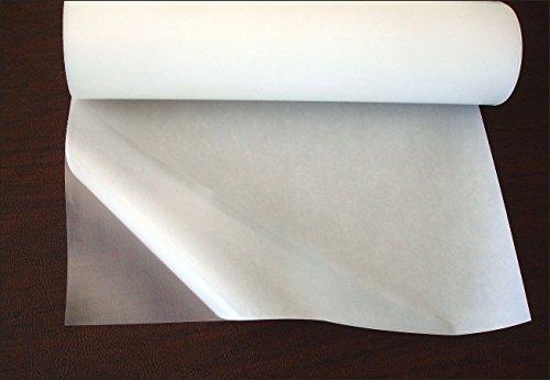 Qiagraphix HGS: 48cmx100cm Heat Melt Fabric Glue Sheet, Turn Fabric Into an Iron On (Paper Patch)