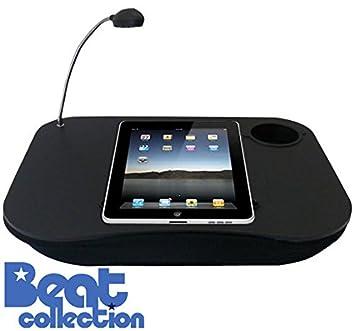 Desconocido - Mesa ordenador portatil, beat kangoo plata, base organizadora, soporte de portátil multifunción, base para leer y guardar documentos o tablet, ...