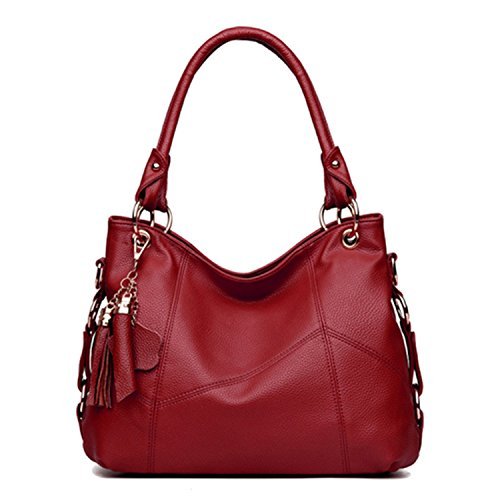las Availcx Rojo Bolsos Bolso Crossbody de mujeres Bolsos de del de hombro totalizador 7nwI7HUr4