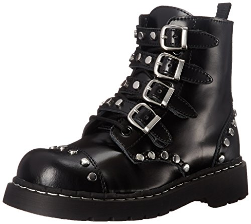 T.U.K. Women's Studded Combat Boot
