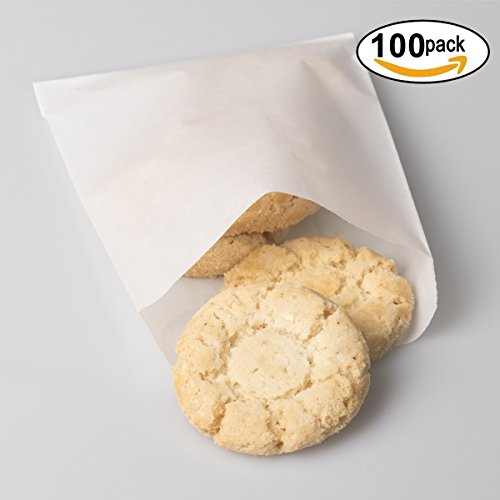 BagDream Glassine Waxed Paper Bags 4.72