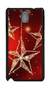 Fashion Style With Digital Art - Bling Bling Star Skid PC Back Cover Case for Samsung Galaxy Note 3 N9000