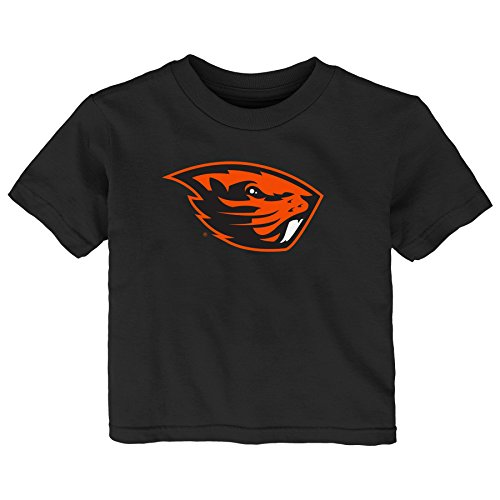 Oregon State Beavers Jersey - Gen 2 NCAA Oregon State Beavers Infant Primary Logo Short Sleeve Tee, 12 Months, Black