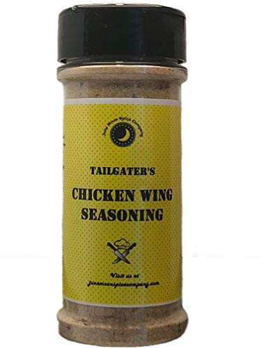 S Chicken Wing Dry Rub Seasoning Dust | Crafted in Small Batches with Farm Fresh SPICES for Premium Flavor and Zest ()