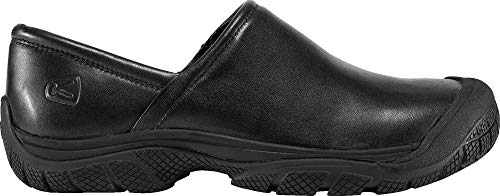 KEEN Utility Men's PTC Slip On Work Shoe,Black,8.5 M US