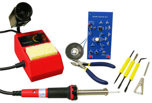 Elenco Deluxe Learn To Solder Kit With (Learn Electronic)