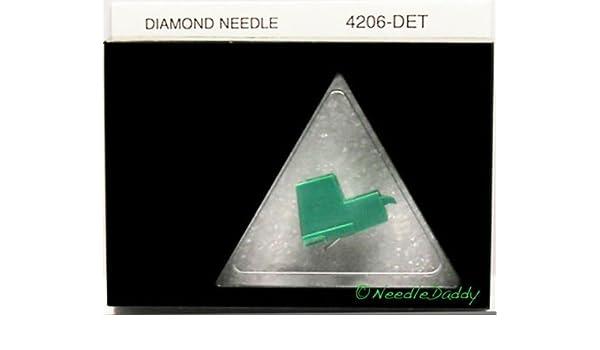 TURNTABLE STYLUS NEEDLE-FOR AUDIO TECHNICA ATN-71EB 206-DET AT71E NEEDLE
